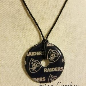 3 for $13.00 - Raiders Necklace Washer